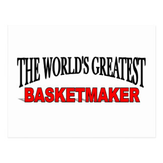 The World's Greatest Basketmaker Postcard