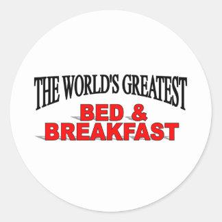 The World's Greatest Bed & Breakfast Sticker