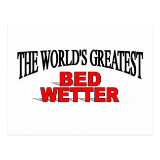 The World's Greatest Bed Wetter Postcard