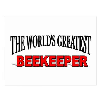 The World's Greatest Beekeeper Postcard