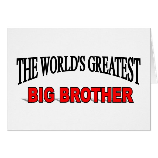 The World's Greatest Big Brother Card