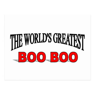 The World's Greatest Boo Boo Postcard