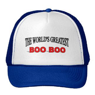 The World's Greatest Boo Boo Trucker Hat