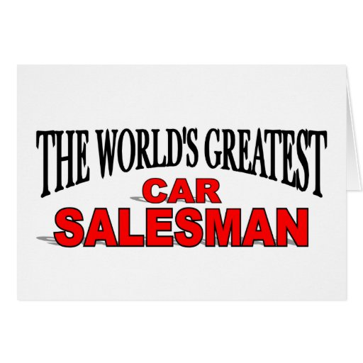 how to become a good car salesman