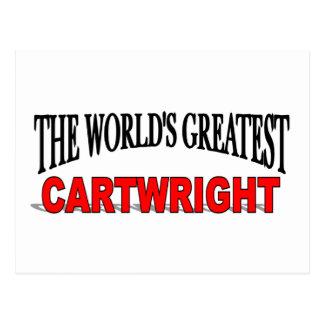 The World's Greatest Cartwright Postcard