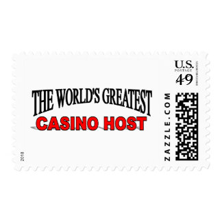 The World's Greatest Casino Host Postage Stamps