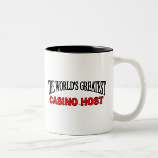 The World's Greatest Casino Host Two-Tone Coffee Mug