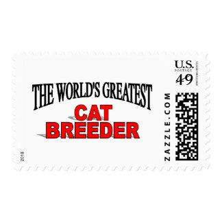 The World's Greatest Cat Breeder Postage