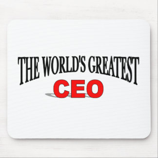 The World's Greatest CEO Mouse Pad
