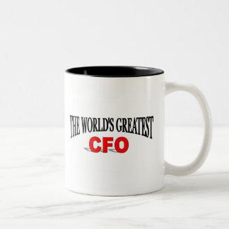 The World's Greatest CFO Two-Tone Coffee Mug