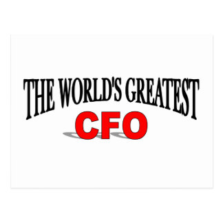The World's Greatest CFO Postcard