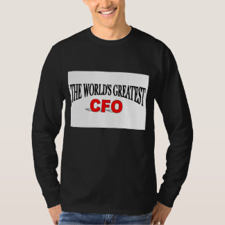 The World's Greatest CFO T-Shirt