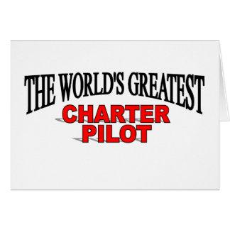 The World's Greatest Charter Pilot Card