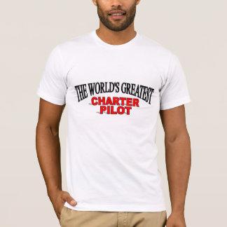 The World's Greatest Charter Pilot T-Shirt