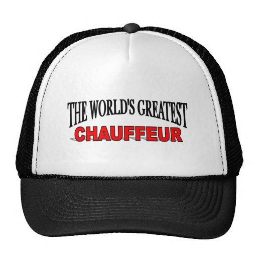 The World's Greatest Chauffeur Mesh Hats