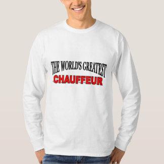 The World's Greatest Chauffeur T-Shirt