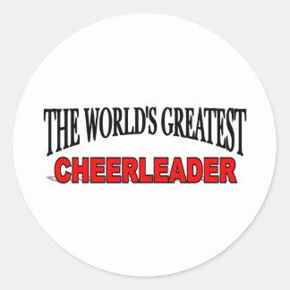 The World's Greatest Cheerleader Sticker