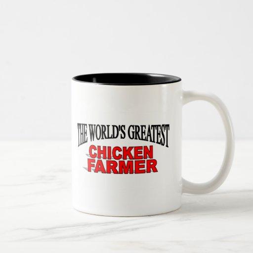 The World's Greatest Chicken Farmer Coffee Mugs