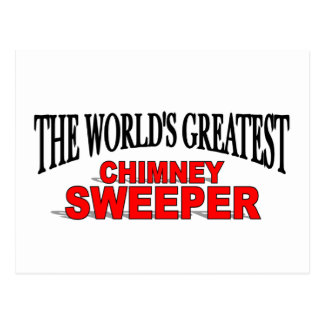 The World's Greatest Chimney Sweeper Postcard