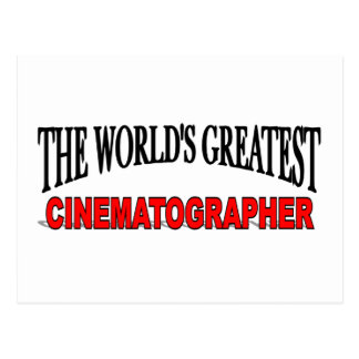 The World's Greatest Cinematographer Postcard