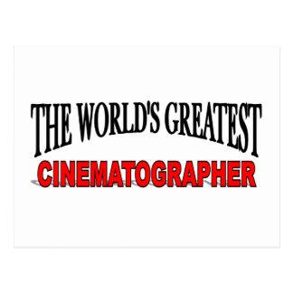 The World's Greatest Cinematographer Postcard
