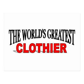The World's Greatest Clothier Postcard