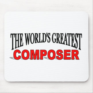 The World's Greatest Composer Mouse Pad