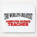 The World's Greatest Computer Science Teacher Mouse Mats