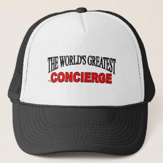 The World's Greatest Concierge Trucker Hat
