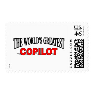The World's Greatest Copilot Postage Stamps