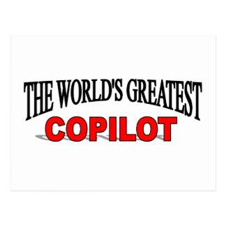 The World's Greatest Copilot Postcards