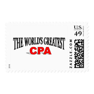 The World's Greatest CPA Postage Stamp