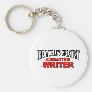 The World's Greatest Creative Writer Keychains