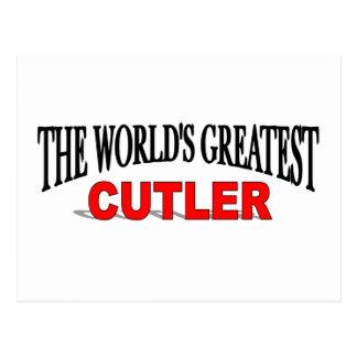 The World's Greatest Cutler Postcard