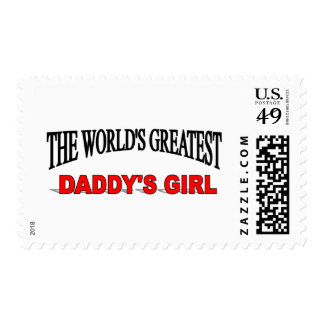 The World's Greatest Daddy's Girl Stamp