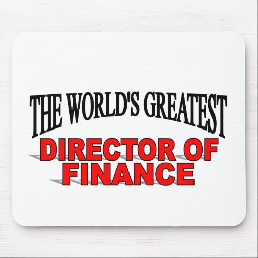 The World S Greatest Director Of Finance Mouse Pad Zazzle
