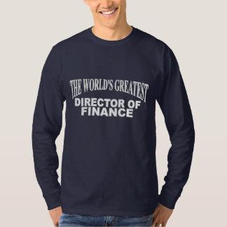 The World's Greatest Director of Finance Shirt