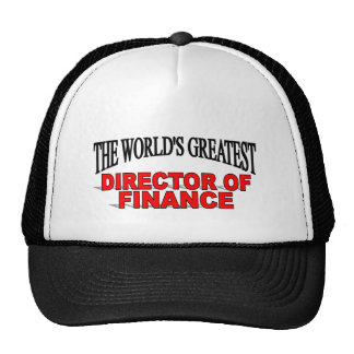 The World's Greatest Director of Finance Trucker Hat