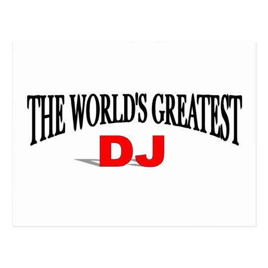 The World's Greatest DJ Postcard