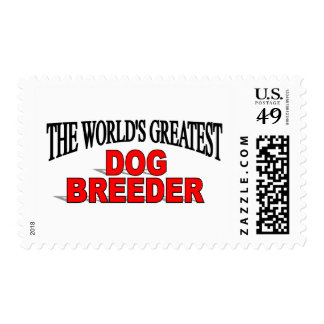 The World's Greatest Dog Breeder Stamps