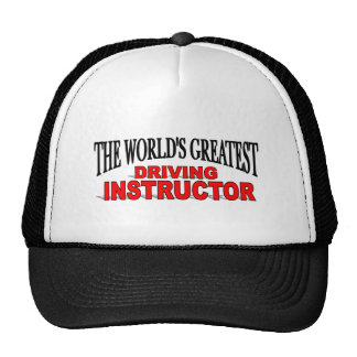 The World's Greatest Driving Instructor Trucker Hat