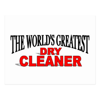 The World's Greatest Dry Cleaner Postcard