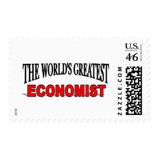 The World's Greatest Economist Postage Stamps