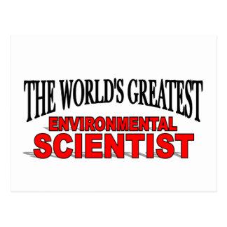 The World's Greatest Environmental Scientist Postcard