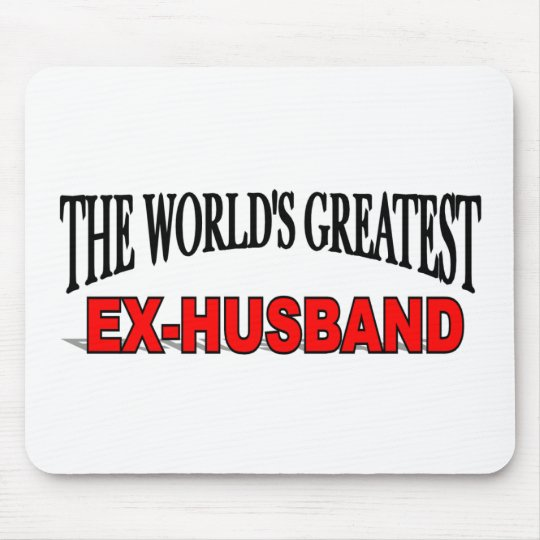 The World's Greatest Ex-Husband Mouse Pad