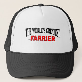 The World's Greatest Farrier Trucker Hat