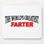 The World's Greatest Farter Mouse Pad