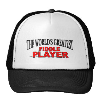 The World's Greatest Fiddle Player Trucker Hat