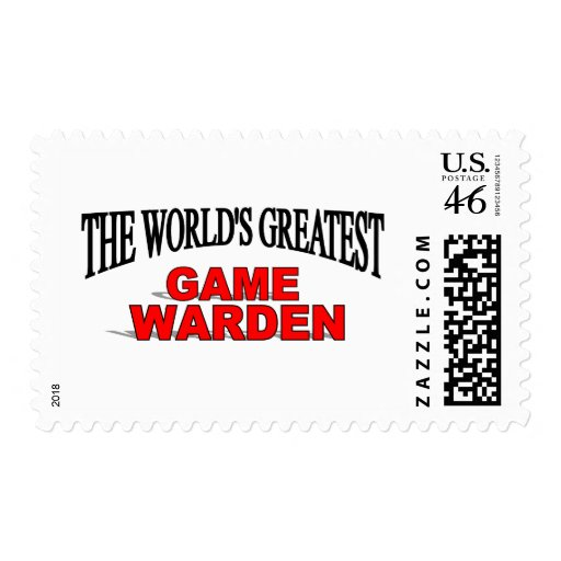 The World's Greatest Game Warden Stamp