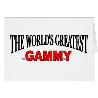 The World's Greatest Gammy Card